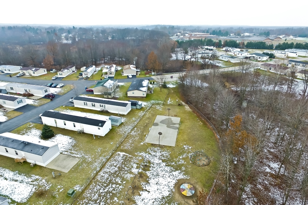 Brookhaven Estates Mobile Home Park Aerial View