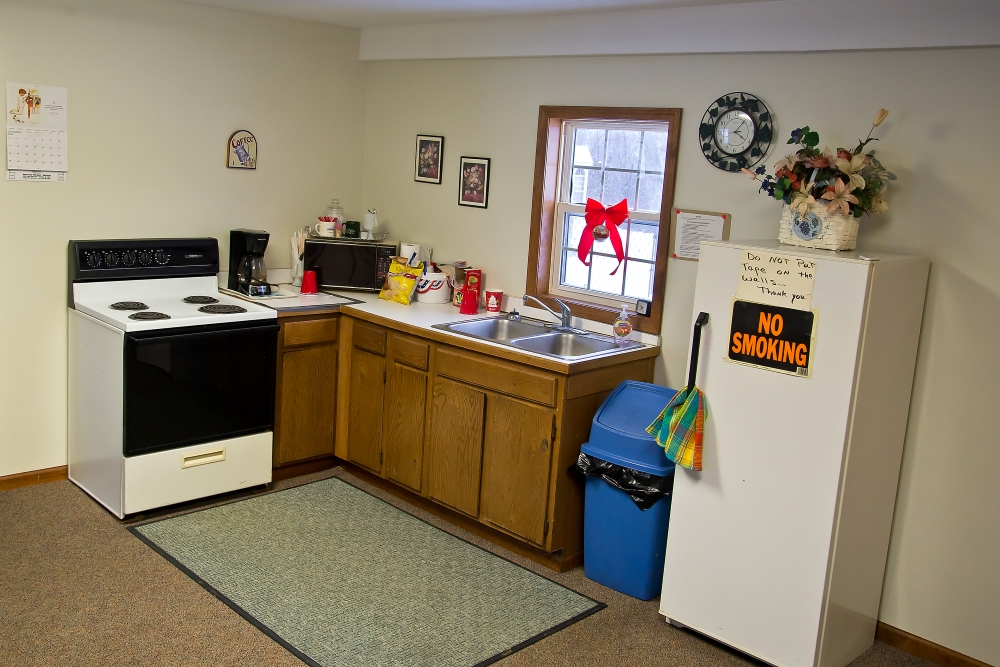 Brookhaven Estates Office and Community Room Kitchen